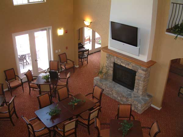 Cortina D'Arroyo Grande Interior Fireplace